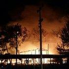 Antalya'nın Konyaaltı ilçesinde 'Sosyete Pazarı'nda  5 işletme yandı!