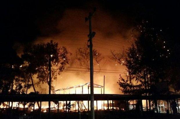Antalya, Konyaaltı,Sosyete Pazarı, ormanlık alna yangın,