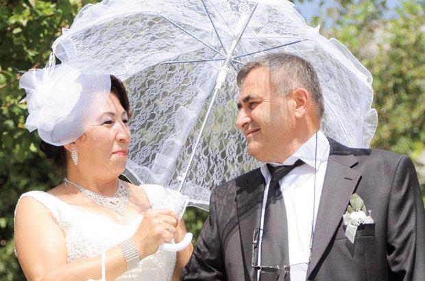 Kemal Ural ve Nuriye Taştan, araya giren onca engele rağmen 35 yıl sonra mutluluğa kavuştu