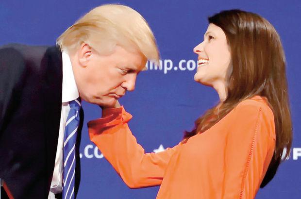 Donald Trump sahnede saçlarını çektirdi