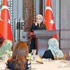 Emine Erdoğan kadın köy korucularına seslendi