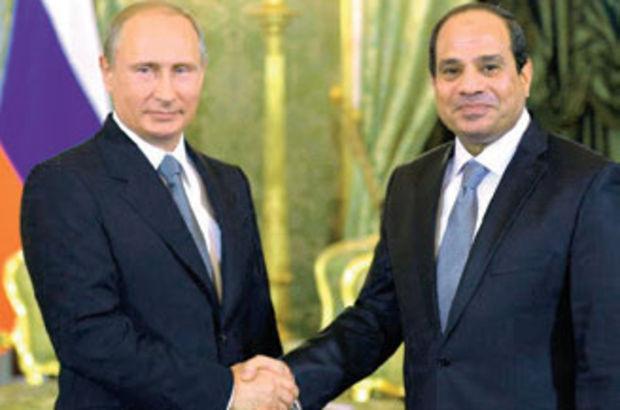 Vladimir Putin, Abdülfettah es-Sisi'yle görüştü