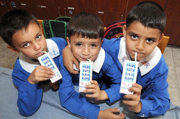 Haftada 3 gün okul sütü dağıtılacak, Gıda, Tarım ve Hayvancılık Bakanlığı
