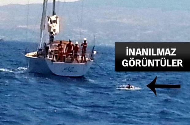 B0odrum'daki kaçaklar 'ölümü göze alıp' Yunanistan'a geçmek istiyorlar