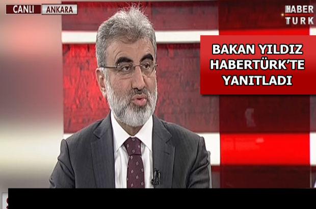 Enerji Bakanı Taner Yıldız Habertürk'te, Tuğrul Türkeş
