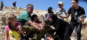 İsrail askerinden dehşete düşüren müdahale!