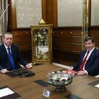 Başbakan Davutoğlu kabine listesi ile Cumhurbaşkanlığı Sarayı'nda