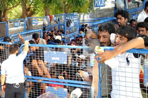 Bodrum, Kaçak göçmenler emniyette toplandı