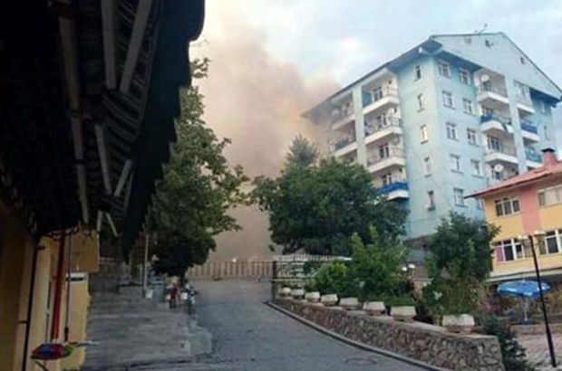 Tunceli, Nazımiye'de polis ve jandarma binalarına saldırı, Polis memuru şehit oldu