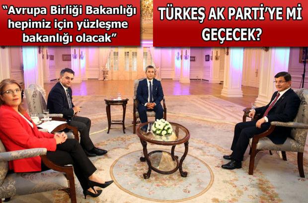Başbakan Ahmet Davutoğlu, Habertürk TV, Show TV, Bloomberg HT