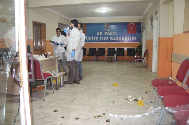 Şanlıurfa, AK Parti Eyyübiye İlçe Başkanlığı,PKK,terör saldırısı,