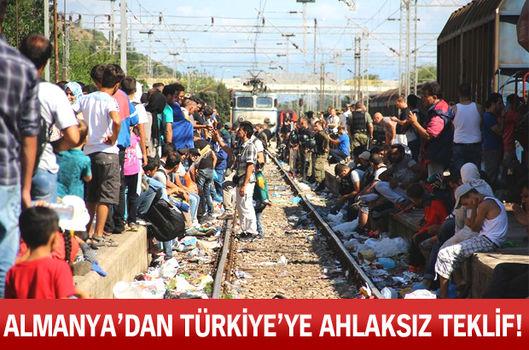Almanya'dan Türkiye'ye ahlaksız teklif!