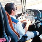Bu da direksiyonda para sayan şoför!