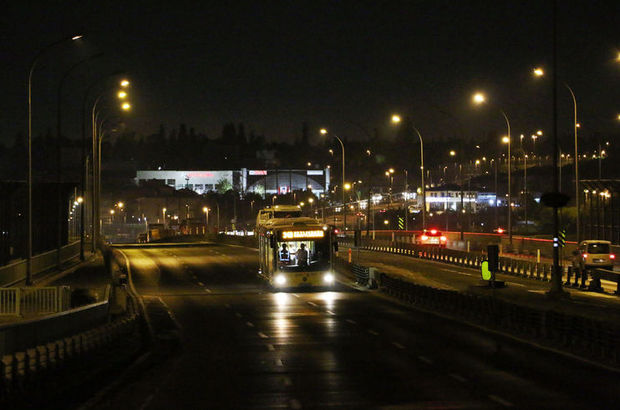 Haliç Köprüsü, metrobüs, çalışma