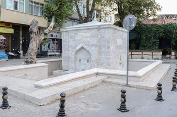 Maltepe Belediyesi, ilçedeki tarihi Feyzullah Efendi Çeşmesi'ni restore etti