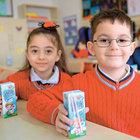 6.5 milyon öğrenci 3 gün süt içecek