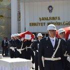 Şanlıurfa'da şehit olan polisler için tören düzenlendi