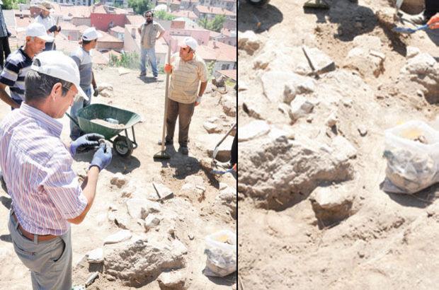 Hititlerden kalan 3 bin 500 yıllık savaş malzemeleri ortaya çıktı
