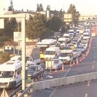 Haliç Köprüsü'ndeki çalışma İstanbul trafiğini kilitledi