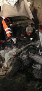 Erzincan'da korkunç kaza!