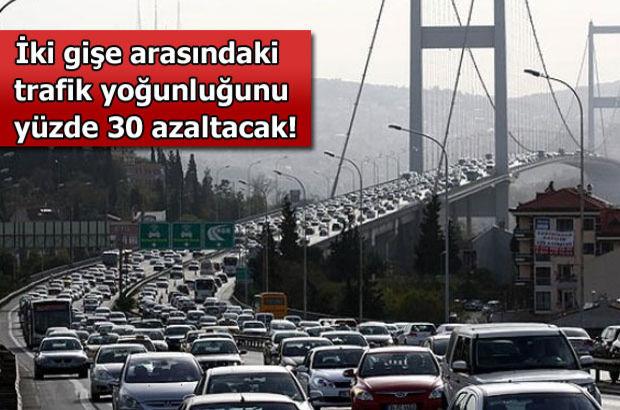 Büyükçekmece Belediyesi, İstanbul trafiği, Büyükçekmece-Hadımköy gişeleri arası 4.5 km azalıyor