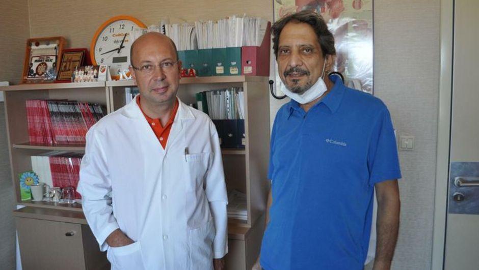 Dr. Murat Oğuz, karaciğer nakli, nakil,  Doç. Dr. Murat Kılıç