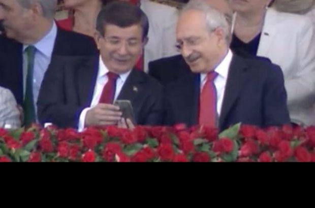 Davutoğlu ile Kılıçdaroğlu arasında dikkat çeken diyalog