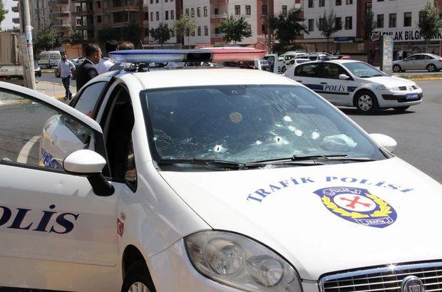 Diyarbakır'da polis aracına saldırı: 1 polis şehit