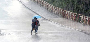Meteoroloji'den 2 il için 'kuvvetli yağış' uyarısı
