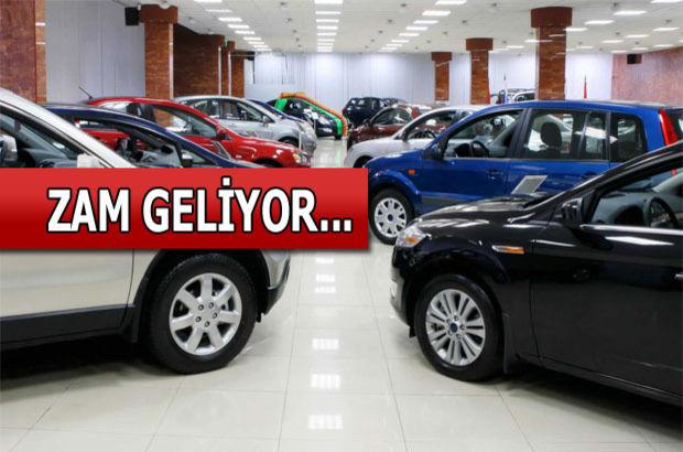 Araba fiyatlarına kur zammı geliyor
