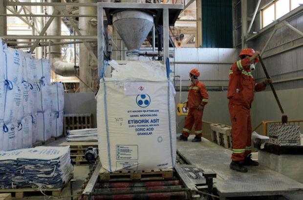 Eti Maden İşletmeleri Genel Müdürü Recep Akgündüz, Eti Maden'in borda hedefi 2.5 milyar dolar ihracat