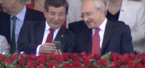 Başbakan Davutoğlu ile Kılıçdaroğlu'nun sohbetinin sırrı çözüldü