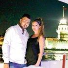 Boğaz'da lazerli evlenme teklifi