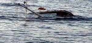Gökova Körfezi'nde 14 metrelik yelkenli tekne battı