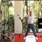 Putin bu kez de spor yaptı...