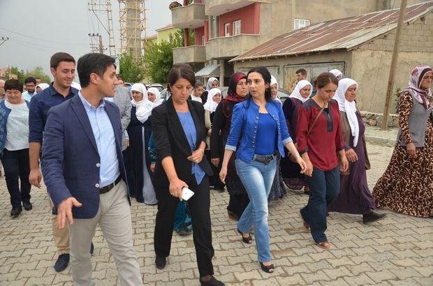 HDP Eş Genel Başkanı Yüksekdağ, Hakkari'de