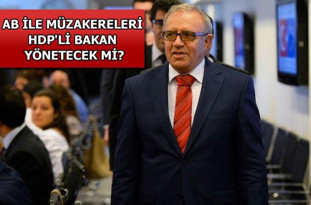 Ali Haydar Konca, HDP, başmüzakereci
