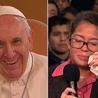 Papa'dan genç kıza şarkı sürprizi!