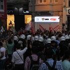 Taksim'degöstericilere müdehale!