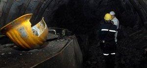 Kütahya'da maden işçilerin üzerine kaya parçası düştü