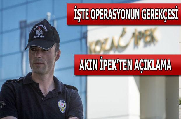 Koza İpek Grubu'na operasyon