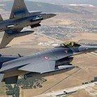 Savaş uçakları IŞİD mevzilerini bombaladı