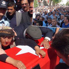Şehit Olgun Kurbanoğlu'nun cenazesinde binler terörü lanetledi