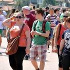 Türkiye'ye 7 ayda 20 milyon turist geldi