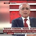 Bakan Yalçın Topçu: Başbakan listeyi açıklamadan 10 dakika önce beni aradı