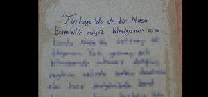 Türkiye'den NASA'ya mektup var!