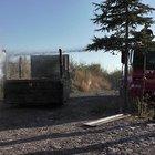 Konya'da yanan kamyonuyla itfaiyeye gitti