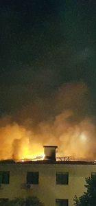 Konya Astsubay Orduevi'nde yangın