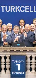 New York Borsası'nda açılış yıldönümü kutlayan Turkcell'den 15'inci yılda 5G sözü