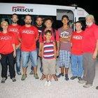Kanyonda mahsur kalan aileyi AKUT kurtardı
